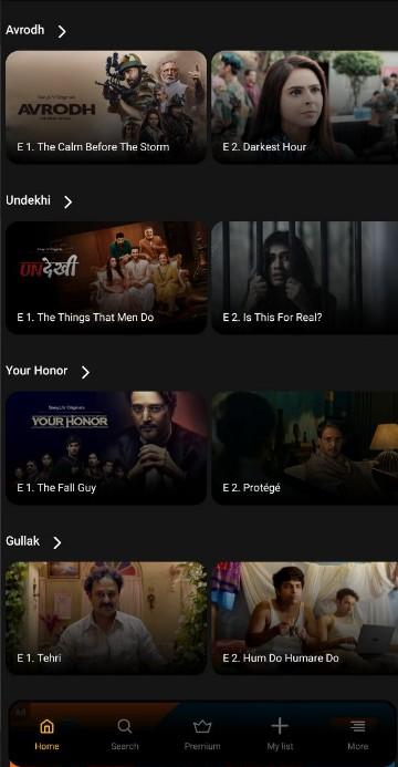 sony liv mod apk for tv 2020