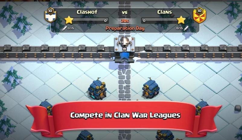clash of clans mod apk unlimited 2021