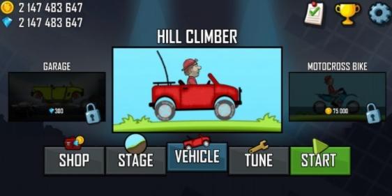 hill climb racing mod apk hack 2021