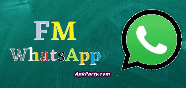 FM WhatsApp APK Download v17.30 Latest Version