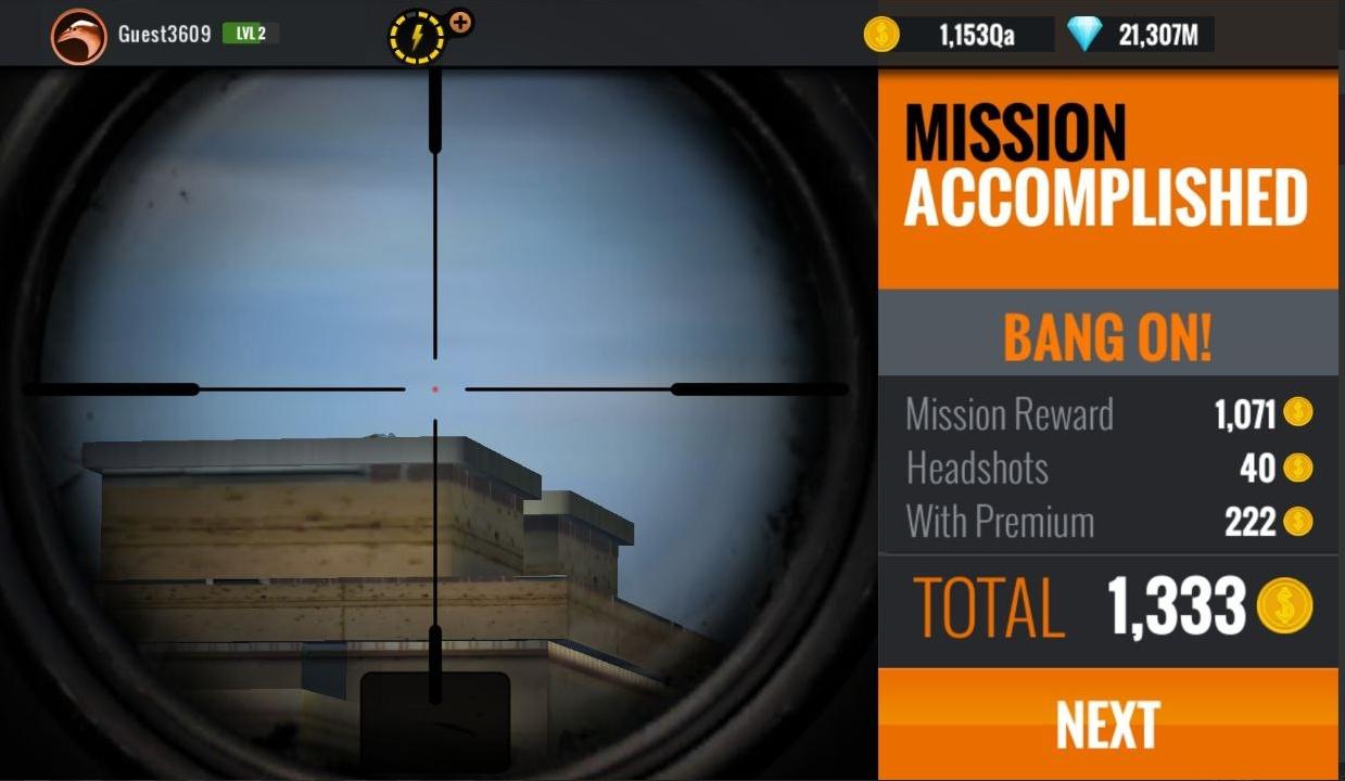 sniper 3d mod apk latest version