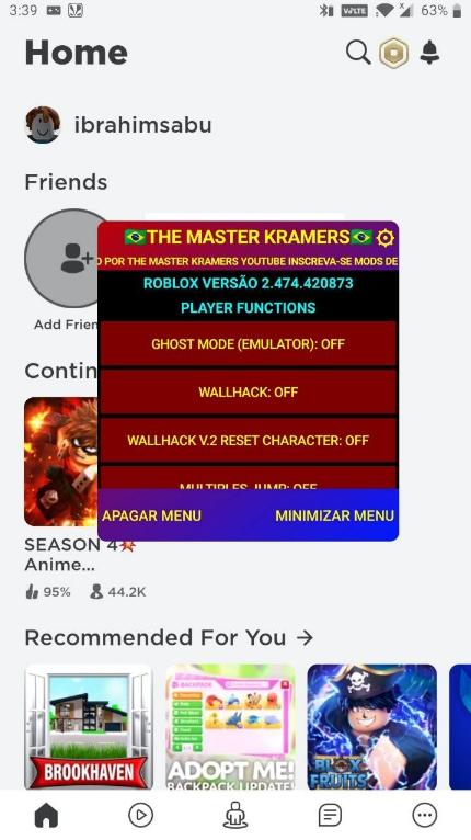 roblox mod menu apk latest version