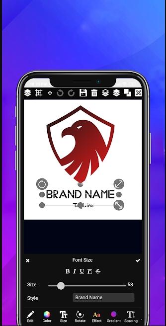 3d logo maker mod apk
