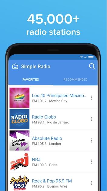 simple radio pro mod apk