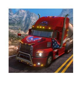 Truck Simulator USA Mod Apk v4.1.1 {Unlimited Everything} 2021